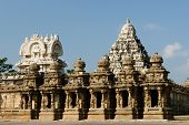 image of tamil  - Kailasanathar Temple in Kanchipuram - JPG