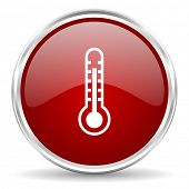 pic of thermometer  - thermometer icon - JPG