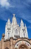 picture of sacred heart jesus  - Jesus Christus Statue at Expiatory Church of the Sacred Heart of Jesus  - JPG