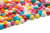 picture of jimmy  - Colorful candy confetti on the white background - JPG