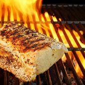 foto of bbq food  - Summer BBQ in the Backyard - JPG
