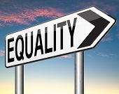 picture of equality  - equality for everybody and solidarity equal rights and opportunities no discrimination  - JPG