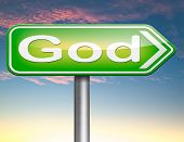 picture of salvation  - God and salvation search road to heaven religion god belief and praise the lord  - JPG