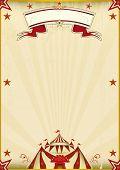 foto of school carnival  - Fantastic brown circus vintage - JPG
