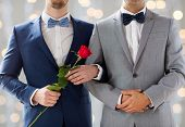 foto of gay wedding  - people - JPG