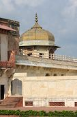 picture of khas  - Architectural detail at Agra Fort in Agra Uttar Pradesh India - JPG