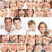 Постер, плакат: Здоровые зубы