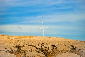pic of wind-farm  - wind farm - JPG