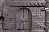 image of furnace  - Cast iron door for furnaces - JPG