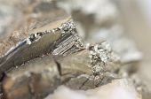 pic of iron pyrite  - Pyrite or iron pyrite is an iron sulfide with the chemical formula FeS2 - JPG