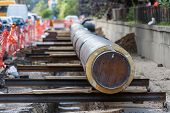 pic of underground water  - underground water pipeline replacement  - JPG