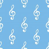picture of clefs  - Treble clef icon - JPG