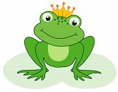 ������, ������: Frog Prince Cartoon Character