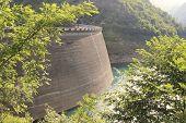 pic of dam  - Dam of Valvestino Valley - JPG