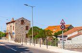 stock photo of stone house  - Figari South Corsica - JPG