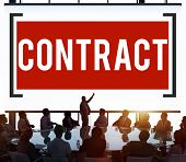 image of bartering  - Contract Deal Agreement Negotiation Commitment Concept - JPG