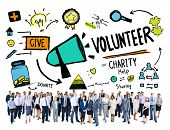 image of charity relief work  - Volunteer Charity and Relief Work Donation Help Concept - JPG