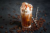 Cold Coffee Drink Frappe (frappuccino) poster
