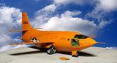 The Bell X-1, originally designated XS-1, was a joint NACA-U.S. Army Air Forces/US Air Force superso