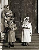 image of hitler  - WWII scene  - JPG