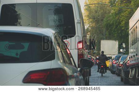 A Big Traffic Jam In