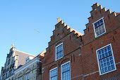 foto of veer  - Historical building in the little town called Veere  - JPG