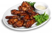 image of fried chicken  - Chicken wings - JPG