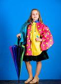 Waterproof Accessories Make Rainy Day Cheerful And Pleasant. Waterproof Accessories Manufacture. Kid poster