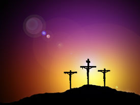 foto of christian cross  - Jesus die for us and save us from sin - JPG