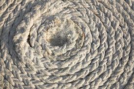 foto of twisty  - Twisty flex rope lays on ground - JPG