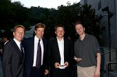 LOS ANGELES - JUN 15:  Brad Bell, Jack Wagner, Peter Wagner, Harrison Wagner attend The LLS 2013 Gal