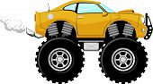 monster car sport 4x4 cartoon