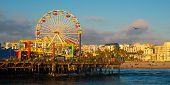 Постер, плакат: Santa Monica Pier