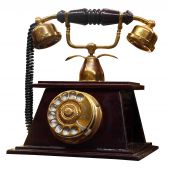 Постер, плакат: Античный телефон
