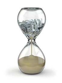 image of countdown timer  - Time is money - JPG
