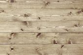 stock photo of joinery  - Architectural background texture of a panel of natural unpainted pine board cladding with knots and wood grain in a parallel pattern conceptual of woodwork carpentry joinery and construction - JPG