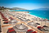 pic of albania  - Beautiful  Mango beach in Saranda - JPG