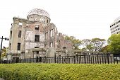 picture of bomb  - The Atomic Bomb (A-Bomb) Dome Hiroshima Japan