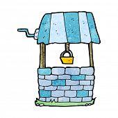 picture of wishing-well  - cartoon wishing well - JPG