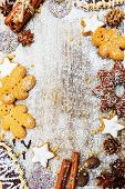 pic of christmas spices  - Christmas baking and christmas spices - JPG