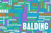 picture of hairline  - Balding and Hairloss as a Medical Treatment Condition - JPG