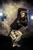 picture of rap-girl  - Modern hip - JPG