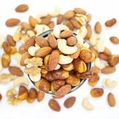 pic of mixed nut  - Close  - JPG