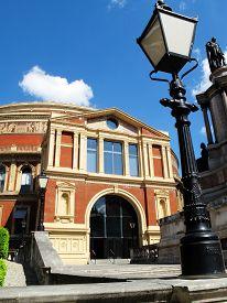 stock photo of kensington  - The Royal Albert Hall - JPG