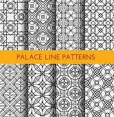 Seamless pattern. Royal pattern vector. poster