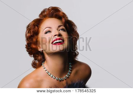 Beautiful Mature redhead