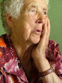 Постер, плакат: Старая женщина