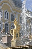 image of samson  - Fountain in Petrodvorets  - JPG