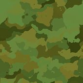 pic of camoflage  - Camouflage pattern graphic wallpaper texture design in various colors - JPG
