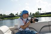 pic of pro-life  - Commercial stock photographer during a photo shoot outdoors - JPG